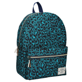 Milky Kiss Rugzak Stay Cute Leopard Army Groen