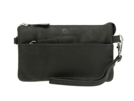 MicMac Bags Clutch Oklahoma Zwart