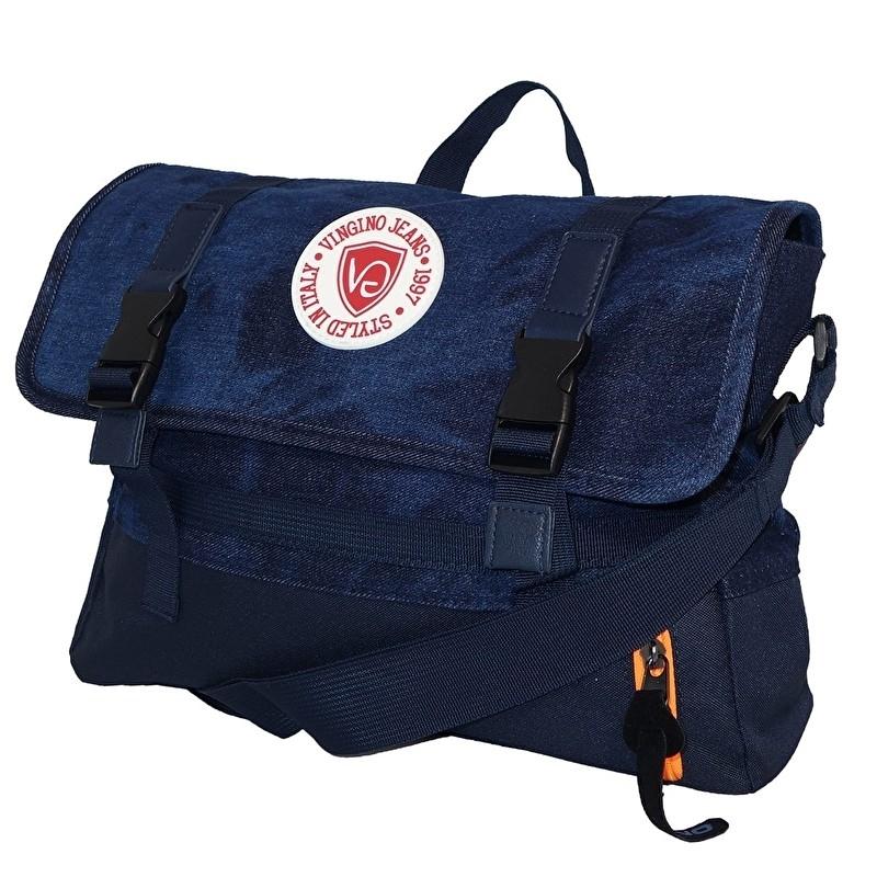 Vingino Schoudertas Valento Bag Dark Blue