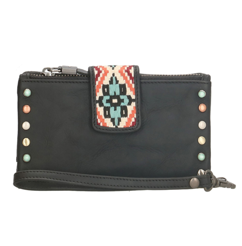 Micmacbags Portemonnee Navajo Zwart