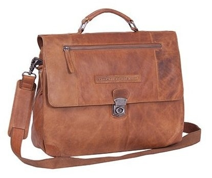 Chesterfield Casual Business Bag Large George Cognac