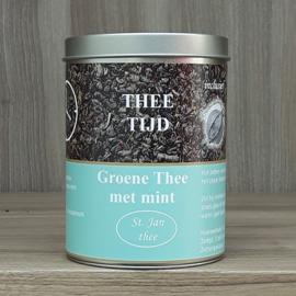 Kadoblik groene thee mint 100 gram