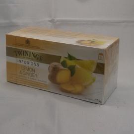 Lemon & ginger 25 zakjes