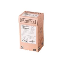 Bradley's zwarte thee moringa & gember