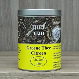 Kadoblik groene thee citroen 100 gram