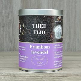 Kadoblik framboos-lavendel 100 gram