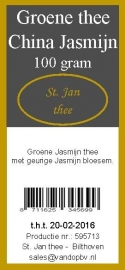 China groene jasmijn 100 gram