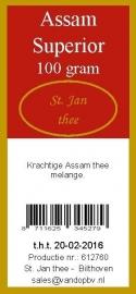 Assam superior 100 gram