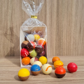 Chocolade Bikkels assorti à 20 stuks (kadoschaaltje)