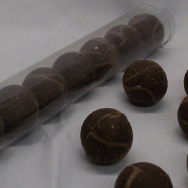Chocolade Bikkels koffie à 10 stuks (koker 25 cm)