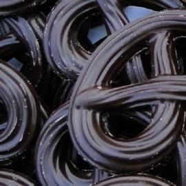 Chocolade krakelingen puur 100 gram