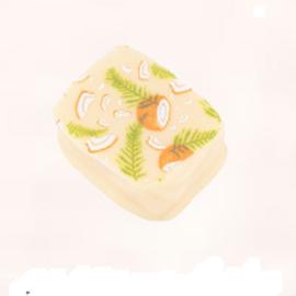 Witte bonbon coconut dream
