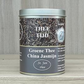 Kadoblik groene thee jasmijn 100 gram