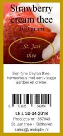 Strawberry cream 100 gram