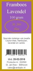 Framboos-lavendel 100 gram