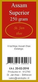 Assam superior 250 gram