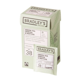 Bradley's groene thee sencha & matcha