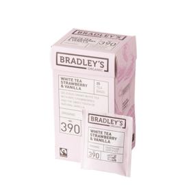 Bradley's witte thee aardbeien & vanille