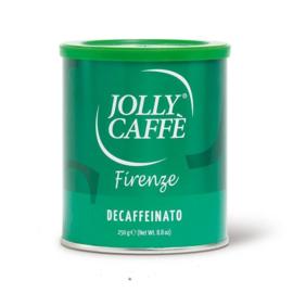 Jolly caffè gemalen koffie caffeïnevrij 250 gram