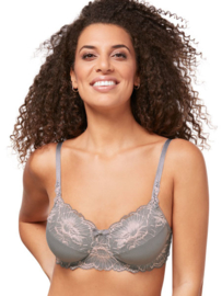 Prothese Beugel-BH Amoena Floral Chic grey 44732