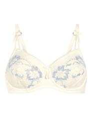 Prothese Beugel-BH Amoena Arya offwhite/light blue