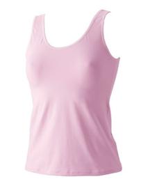 Hemd Avet hoge hals pink