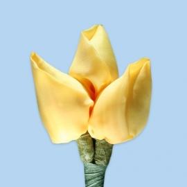 Tulp corsage geel