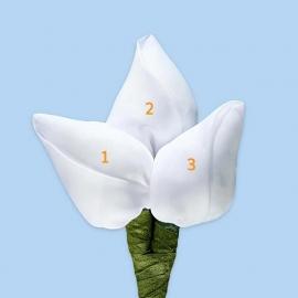 Tulp corsage - maatwerk