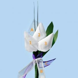Tulp corsage deluxe - maatwerk