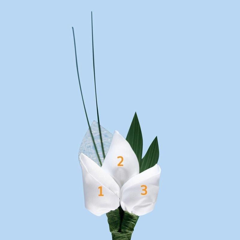 Tulp corsage luxe - maatwerk