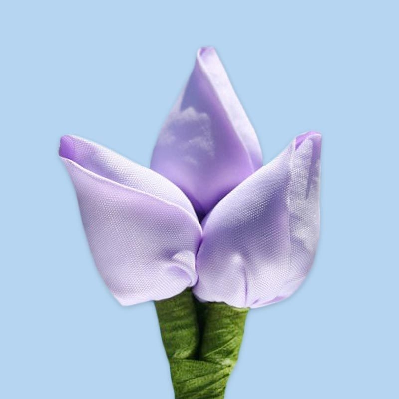 Tulp corsage lila