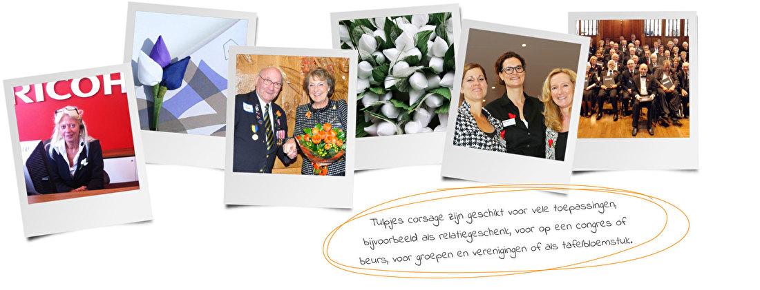 Corsage op maat voor speciale gelegenheden - Tulpjes.nl