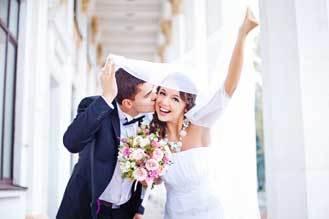 Corsage voor de bruiloft en trouwen