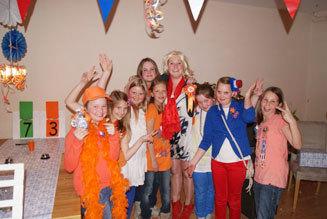 Ik hou van Holland kinderfeestje met Tulpjes.nl