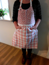 Keukenschort roze