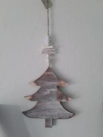 Hanger hout kerstboom Clayre en Eef