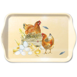 Breeding Chicken  13x21 cm
