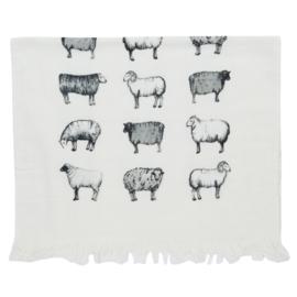 Gastendoekje schapen