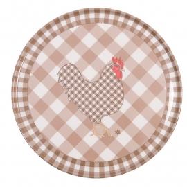 Onderzetter 'chicken all over'