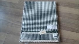 Tafelkleed groen  150x150 cm