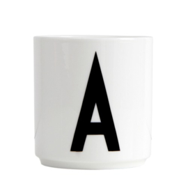 Design Letters bone china mug