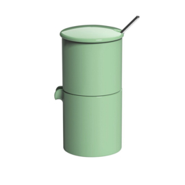 Loveramics Bond mint stapelbare melk en suiker set met lepeltje