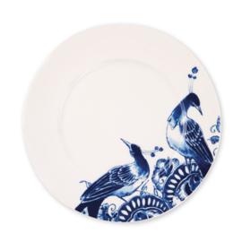 Dessert bord (ontbijtbord of saladebord)  23,5 cm Peacock Symphony
