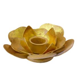 Bungalow KERST gouden kandelaar Joytis