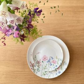 Siaki Wilde Weidebloemen porseleinen ontbijtbord Ø21,5 cm