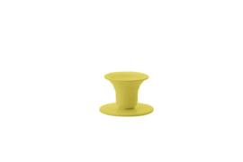 Kunstindustrien Mini Bell (oker)GEEL kleine metalen kandelaar voor kerstboomkaarsjes