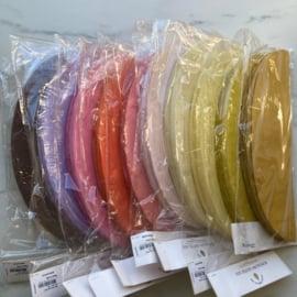 Papieren honeycomb paasei 30 cm in 11 kleuren