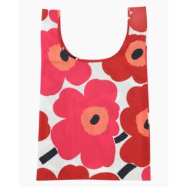 Marimekko Smart bag (opvouwbaar tasje) Unikko Rood