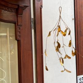 Bungalow KERST gouden  mistletoe 40 cm