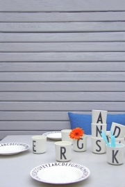 Design Letters melamine cup